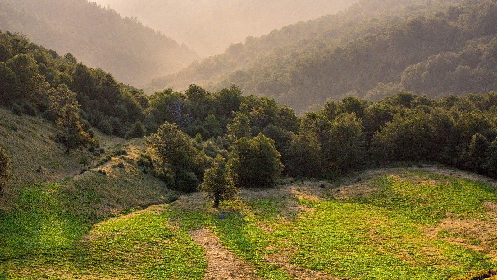 Ukrajina Karpaty Poloniny