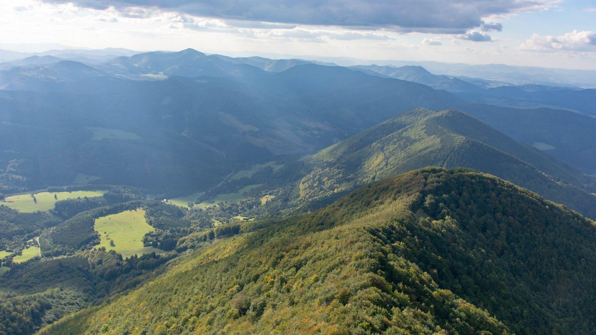 Strážovské vrchy Slovensko