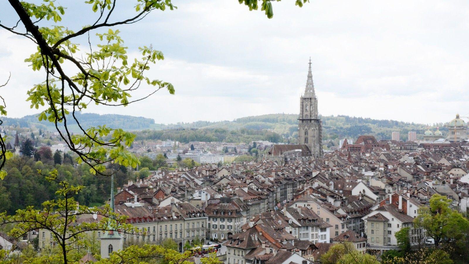 Švýcarsko Ženeva CERN Bern