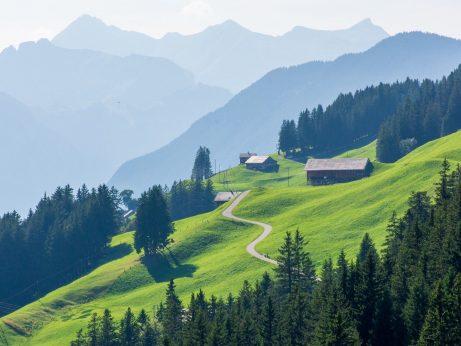 Švýcarsko - Glarnské Alpy