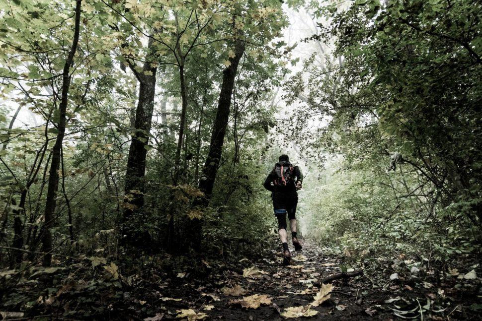 trailový běh Brno